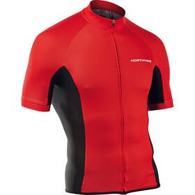 Northwave Force Koszulka z krótkim rękawem Mężczyźni, czerwony